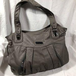 Scarleton Gray Ultra Soft Tote Handbag Crossbody
